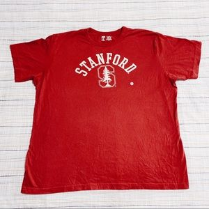 Stanford University T Red Tee Size XXL NWOT
